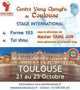 Maitre Yang Jun à Toulouse @ Creps de Toulouse Montaudran
