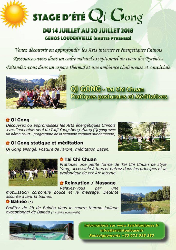 Stage d'été de Qi Gong @ Lac de Loudenvielle | Loudenvielle | Occitanie | France