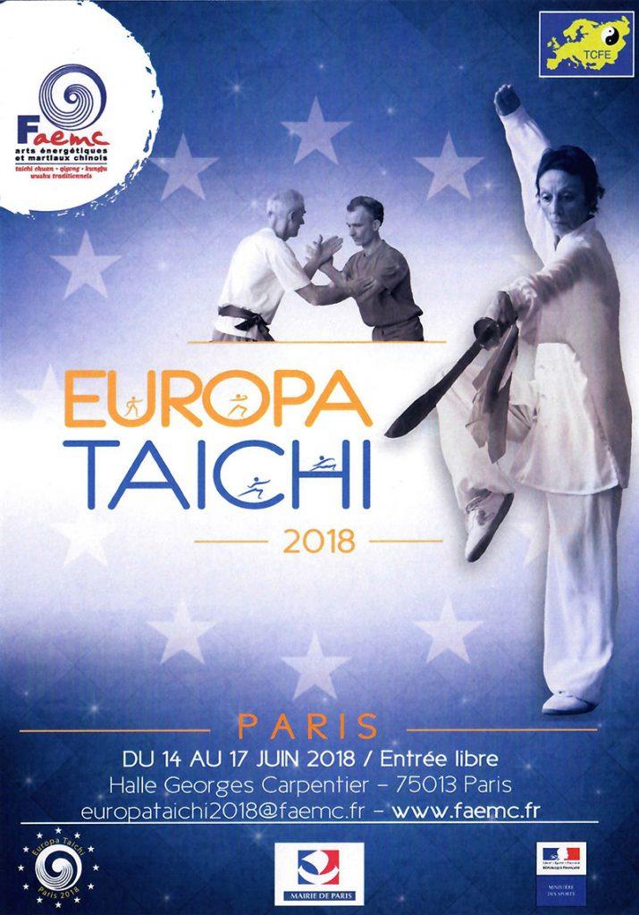 Europa Tai Chi @ Halle Georges Carpentier | Paris | Île-de-France | France