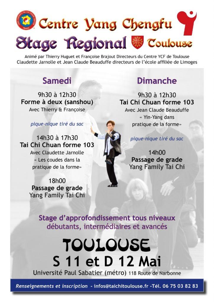 Stage Régional de Tai Chi Chuan @ Université Paul Sabatier