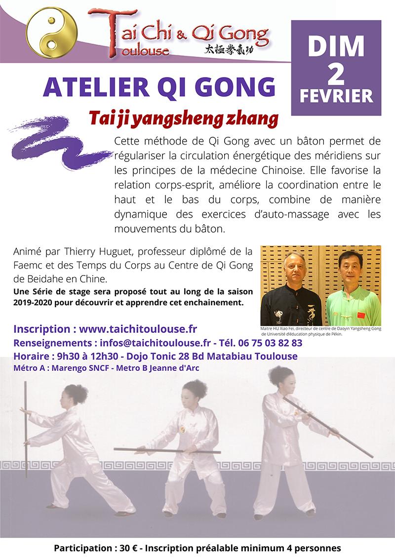 Atelier Qi Gong Taiji Yangsheng zhang @ à préciser