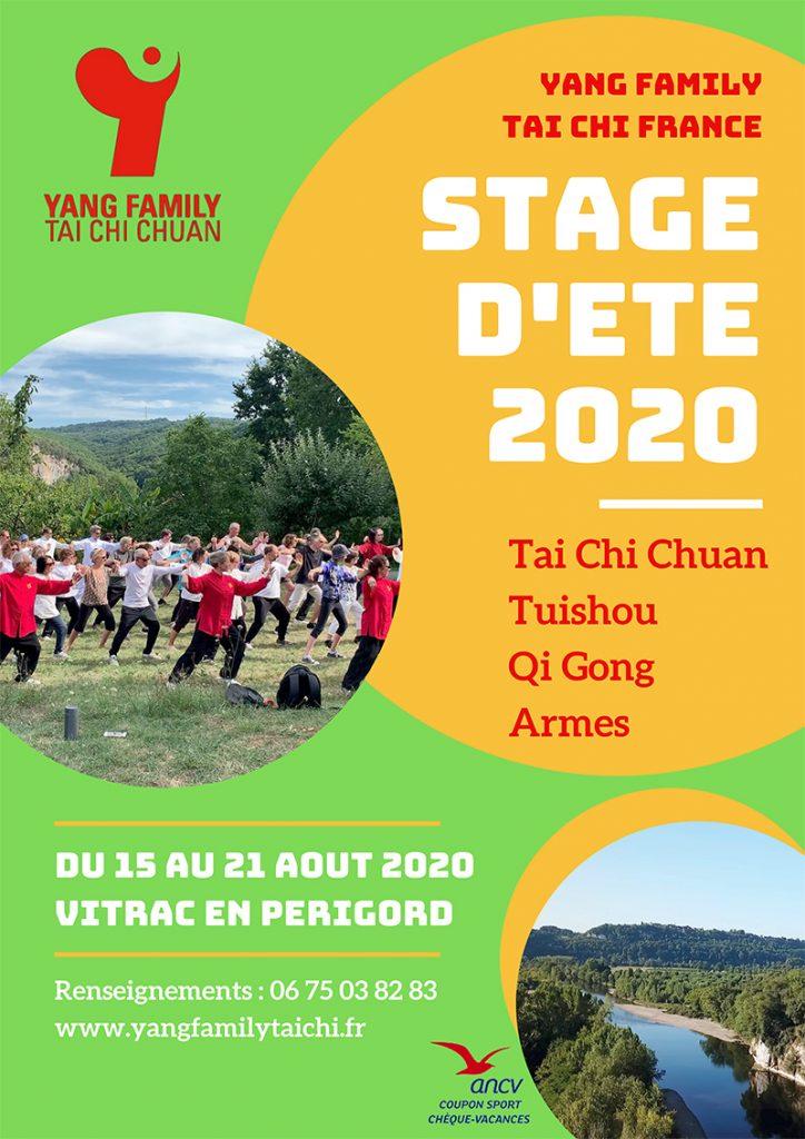 Stage d'été Tai Chi Périgord @ Pech de Malet