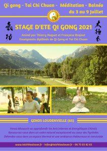 Stage d'été Qi Gong Pyrénées @ Lac de Génos Loudenvielle